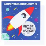 Paperchase Out Of This World Birthday Card