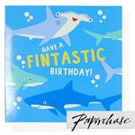 Paperchase Fintastic Birthday Card