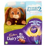 Cadbury Dairy Milk Chocolate Easter Egg with Benjamin Bunny Plush Toy