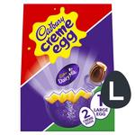 Cadbury Creme Egg Chocolate Large Easter Egg