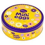 Cadbury Tin with 10 Mini Eggs Bags