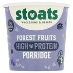Stoats - High Protein Porridge Pot - Forest Fruits
