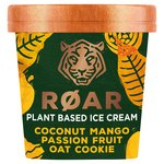 ROAR Plant Based Coconut Mango Passionfruit Oat Cookie Ice Cream