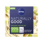 NIVEA Naturally Good 99% Natural Regenerating Night Cream with Argan Oil