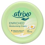 ATRIXO Enriched Moisturising Hand & Body Cream with Soothing Camomile