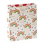 Caroline Gardner Rainbow Gift Bag, Large