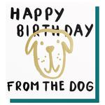 Caroline Gardner Happy Birthday From the Dog Card