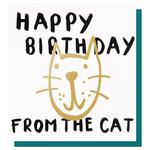 Caroline Gardner Happy Birthday From the Cat Card