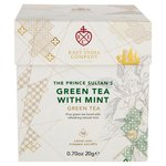 East India Company The Prince Sultan's Green Tea and Mint Pyramid Bags