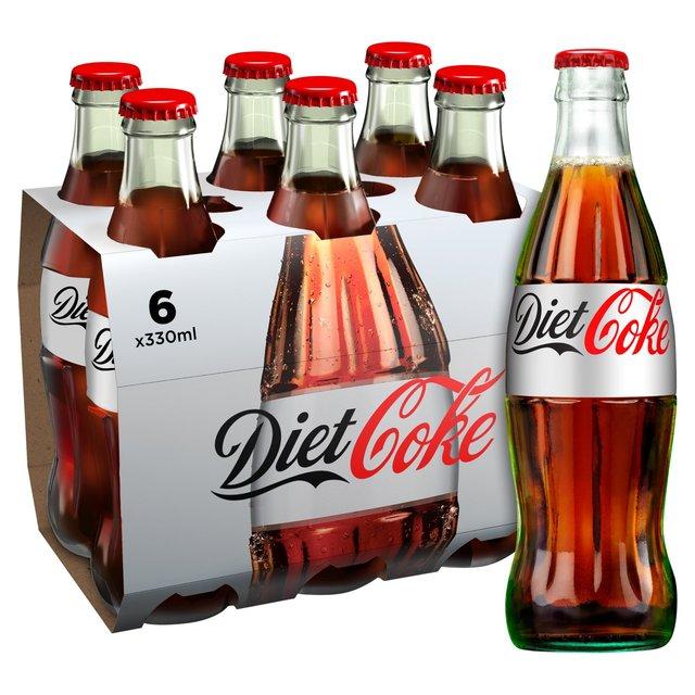 Diet Coke Glass Bottle...