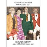 Twist and Shout Birthday Card