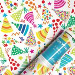 Party Hats Gift Wrap Sheets