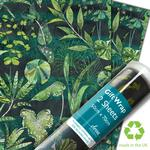 Designers Guild Aura Green Gift Wrap Sheets