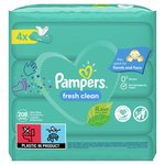 Pampers Baby Wipes Scented 4 x 52 per pack