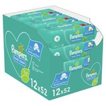 Pampers Baby Wipes Scented 12 x 52 per pack