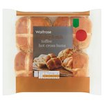 Waitrose Easter Toffee Hot Cross Buns