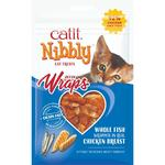 Catit Nibbly Wraps Chicken & Fish Cat Treat