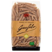 Garofalo Organic Whole Wheat Penne Dry Pasta