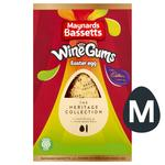 Cadbury Chocolate Easter Egg with Maynards Bassetts Wine Gums Sweets Roll