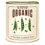 Eat Wholesome Organic In Season Garden Peas