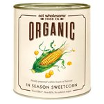 Eat Wholesome Organic In Season Sweetcorn