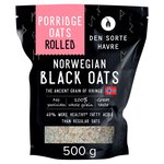 Den Sorte Havre Ancient Grain Black Oat Rolled Porridge Oats