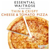 Cheese & Tomato Pizza Frozen essential Waitrose