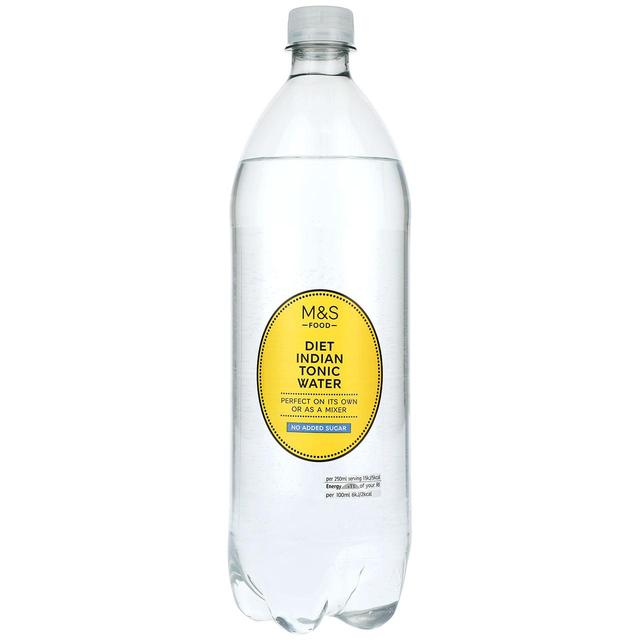 how much sugar is in diet tonic water