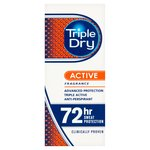 Triple Dry Men's Active Anti-Perspirant Roll On