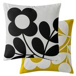 Orla Kiely Stem Spring Cushion, Buttercup