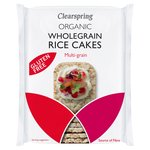 Clearspring Organic Rice Cakes - Multi-Grains