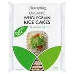 Clearspring Organic Rice Cakes with No Added Salt