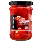 Peppadew Peppers with Cream Cheese