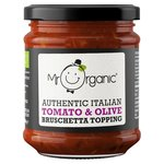 Mr Organic Authentic Italian Tomato & Olive Bruschetta Topping