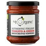 Mr Organic Authentic Italian Tomato & Red Onion Bruschetta Topping