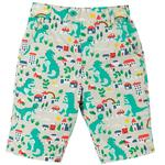 Frugi Reversible Dinosaur Shorts (0mths - 10yrs)