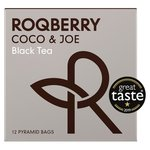 Roqberry Coco & Joe Black Tea Bags