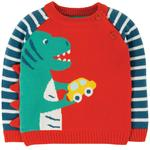 Frugi Dino Knitted Jumper (0mths - 4yrs)