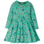 Frugi Deer Skater Dress (2 - 10yrs)