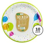 Balloons Recyclable Paper Plate, 22cm