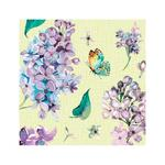 Duni  Butterfly Paper Napkin, Lime