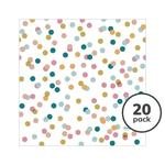 Duni Dream Dots 3ply Napkin, 33cm