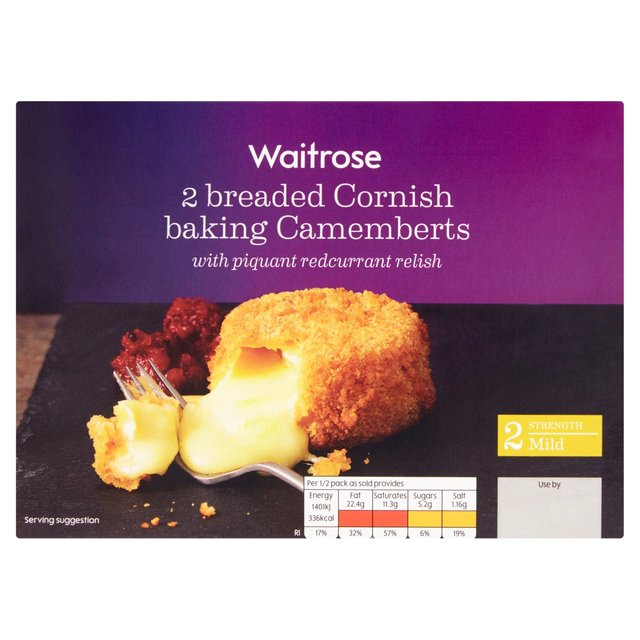 Wr Breaded Camembert Ocado