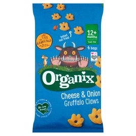 Organix Cheese /& Herb Finger Food Toddler Snack Corn Puffs Multipack