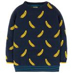 Frugi Organic Cotton Bananas Knit Jumper (2 - 10yrs)