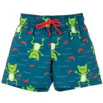 Frugi UPF 50 Quick Dry Board Shorts Frog Print (6mths - 4yrs)