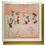 Paperchase Laser Cut Floral Mother's Day Card