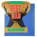 Paperchase Best Dad Trophy Father's Day Card