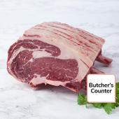 Waitrose 1 30 Day Aged Wing Rib of Sirloin Aberdeen Angus