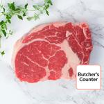 Waitrose 1 Dry Aged Aberdeen Angus Rib Eye Beef Steak
